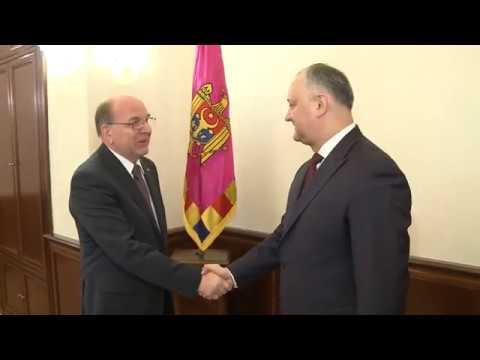 Igor Dodon a avut o întrevedere cu ambasadorul Rusiei