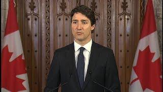 Toronto van attack: Prime Minister Justin Trudeau's statement