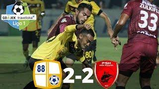 Video Barito Putera vs PSM Makassar 2-2 - All Goals & Highlights - Liga 1 - 29/10/2017 MP3, 3GP, MP4, WEBM, AVI, FLV Mei 2019