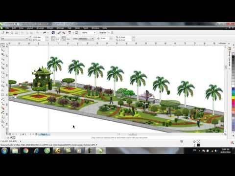 Design Garden With CorelDraw 4