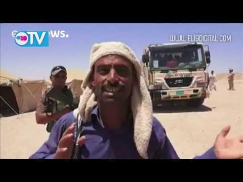 Cientos de iraquíes huyen de las afueras de Faluya antes de la ofensiva del Ejército