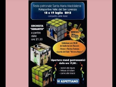 18 - 19 LUGLIO SAN LORENZO AL MARE ESIBIZIONE BALLERINI RIVIERA DANCE