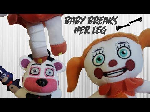 FNaF Plush: Baby Breaks Her Leg