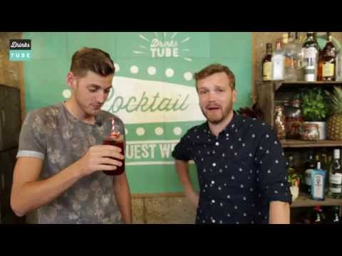 devil - For this cocktail - our 14th of Drinks Tube's Cocktail Request Week - we were joined by Sam Homewood from Manchester United fan channel FullTimeDEVILS, whose subscribers had requested an MUFC-theme...