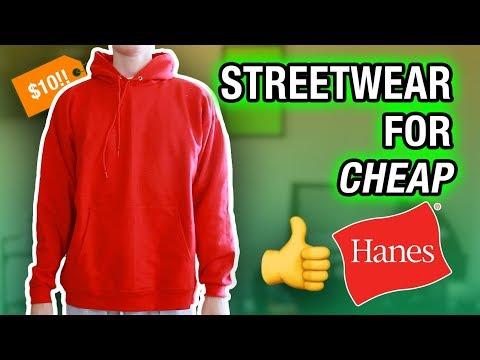 Here's the BEST Hoodie UNDER $20! (AFFORDABLE STREETWEAR)