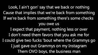 Video Big Sean ft. Drake & Kanye West - Blessings (OFFICIAL LYRICS) MP3, 3GP, MP4, WEBM, AVI, FLV Agustus 2018