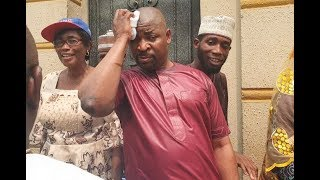 See Where MC Oluomo was Stabbed,Returns Back To 9ja As Yomi Fash Lanso,Others  Came To Greet Him