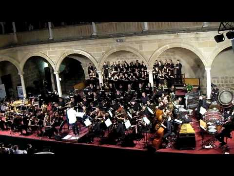 Giaccino - The philarmonic orchestra of Malaga and choir Ziryab of Cordoba conducted by Michael Giacchino play farewell theme of TV series