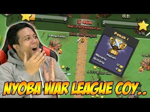 Akhirnya Nyicipin War League Clash of Clans Hehehehe