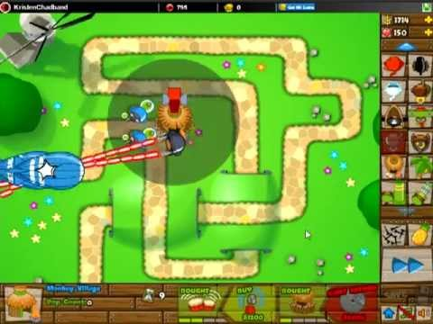 Btd5 bloons tower defense 5 special mission there can be only one