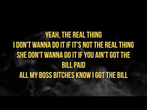 Tory Lanez Real Thing Ft Future (lyrics)