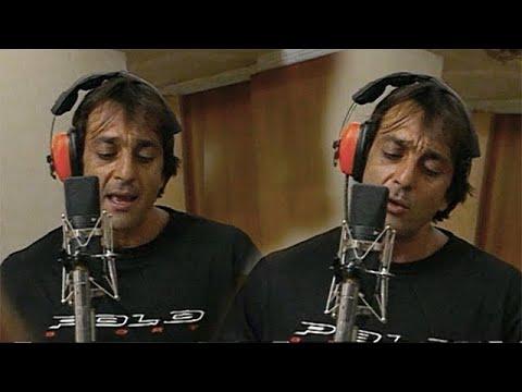 Sanjay Dutt Recording Hit Song 'Aye Shivani'   Flashback Video