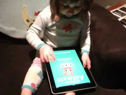 2.5 Year Old's First Encounter with an iPad