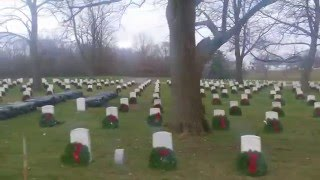 Danville (IL) United States  city photos gallery : Wreaths Accross America Danville IL @ National Cemetery