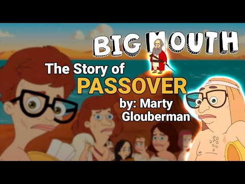 """BIG MOUTH 3 • The Story of Passover - by: Marty Glouberman - 3x05: """"Florida"""" • Richard Kind"""