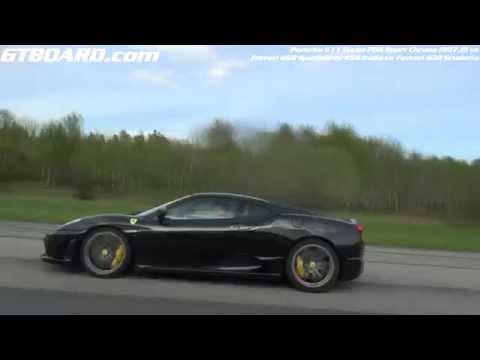 scuderia - Ferrari 458 Speciale, 458 Italia, 430 Scuderia vs Porsche 911 Turbo PDK Sport Chrono 997.2 ▻ Subscribe here: http://goo.gl/IkIKxo ---------------------------...