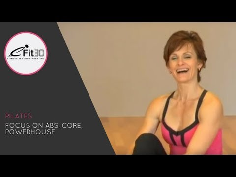 Pilates series ABS Attack mat workout, FULL 30 minutes