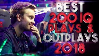 Video BEST 200 IQ Plays & Outplays of 2018 - Dota 2 MP3, 3GP, MP4, WEBM, AVI, FLV Maret 2019