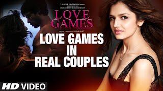 LOVE GAMES in Real Couples | Patralekha, Gaurav Arora, Tara Alisha Berry | T-SERIES
