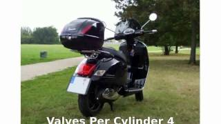 7. 2011 Vespa GTS 300 - Info and Top Speed