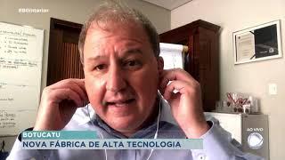 Botucatu anuncia construção de fábrica de alta tecnologia na cidade