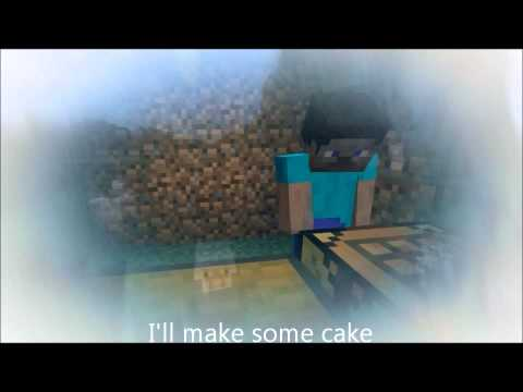 "Minecraft Parody ""I'll Make Some Cake"" Of The Wanted's ""Glad You Came"" With Lyrics"