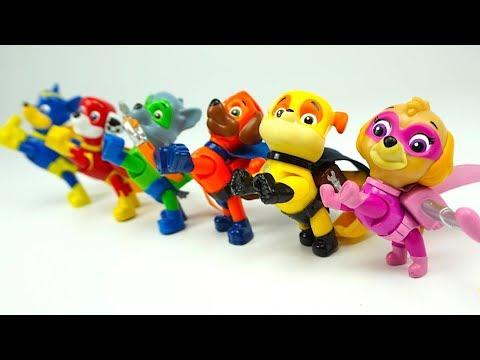 Распаковываем игрушку Щенячий Патруль с героями мультика - DomaVideo.Ru