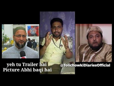 Funny and comedy video | Minhaj Ebees @ Reply  Fake Prince Tucy | Support AsadUddin Owaisi (видео)