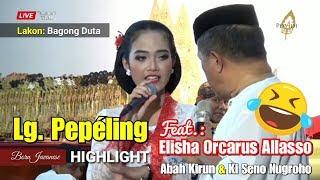 Video Elisha Orcarus Allasso - Lg. Pepéling (Bersama Abah Kirun & Ki Seno Nugroho) MP3, 3GP, MP4, WEBM, AVI, FLV Maret 2019
