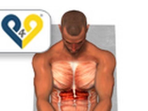 Push Through – Upper Ab Exercise