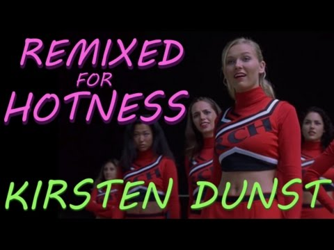 Kirsten Dunst as a high school cheerleader: Bring it On - Remixed for Hotness