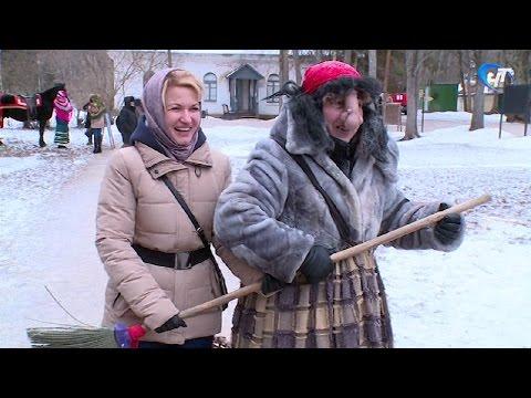 Накануне в музее деревянного зодчества прошел традиционный зимний праздник «Святки в Витославлицах»