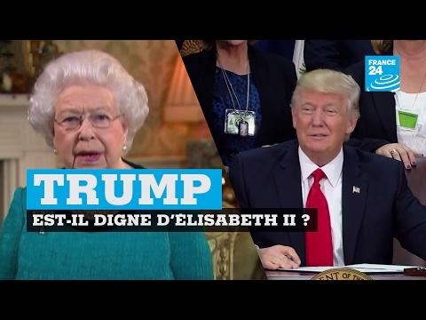 Video Donald Trump est il digne de la reine d'Angleterre ? download in MP3, 3GP, MP4, WEBM, AVI, FLV January 2017