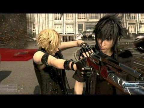 Final Fantasy XV最新實機畫面,好刺激呀!!