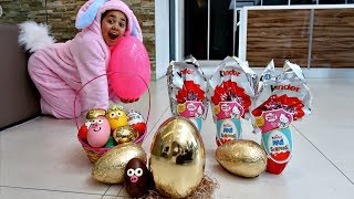 Video GOLDEN EGG! Easter Egg Hunt Toys Challenge For Kids Pretend Play | Toys AndMe MP3, 3GP, MP4, WEBM, AVI, FLV Juni 2018