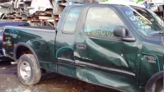 2001 Ford F150 XL Auto Parts Inventory Standard Auto Wreckers CP074