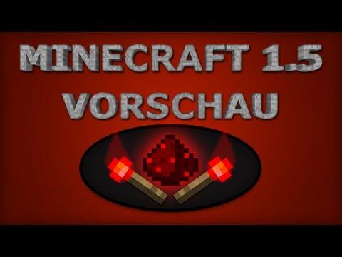 Minecraft 1.5 Redstone Update Vorschau