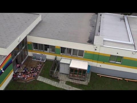 広島わかば幼稚園上からの撮影