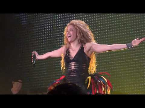 Shakira - Waka Waka (Live In Hamburg - El Dorado World Tour Opening Night) HD