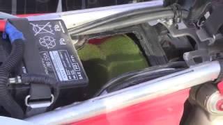 8. 2012 Honda CRF250X Jetting Airbox Smog