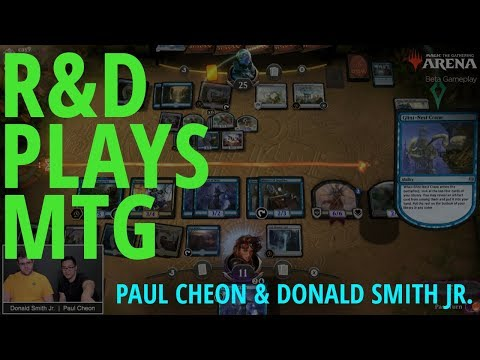 R&D Plays MTG - Paul And Donald Battle Standard!