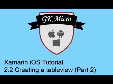 Xamarin IOS Tutorial 2.2 - How To…