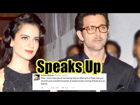 Kangana Ranaut Gives It Back To Hrithik Roshan On