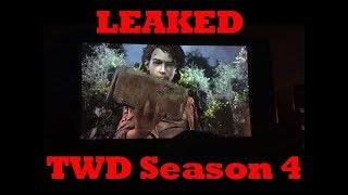 Tellltales The Walking Dead Season 4 | LEAKED GAMPLAY/FOOTAGE