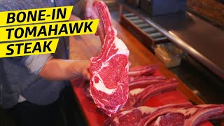 Why the Bone-In Tomahawk Is the Best Cut of Steak —Prime Time by Eater