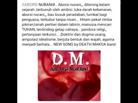 Aborsi Nurani   Death Makoa Band