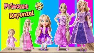 Colección de Princesas Rapunzel | Barbie videos para niñas