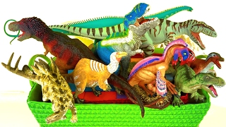 Hi its Kerry! Learn about Dinosaurs - What's in the Box? I'm looking at some new Wild Safari 2017 Dinosaurs and other new Dinosaurs. Stay for the fun ending ...