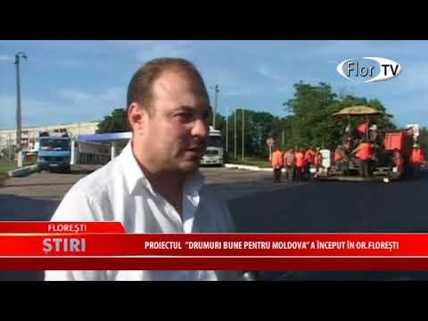 """Proiectul """"Drumuri bune pentru Moldova"""" a început în or.Floreşti"""