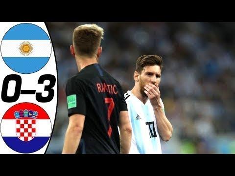 Argentina vs Croatia 0-3 - All Goals & Highlights - 21/06/2018 /HD Fifa World Cup
